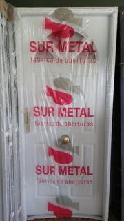 Puerta Chapa Inyectada Sol 80x2 Sur Metal