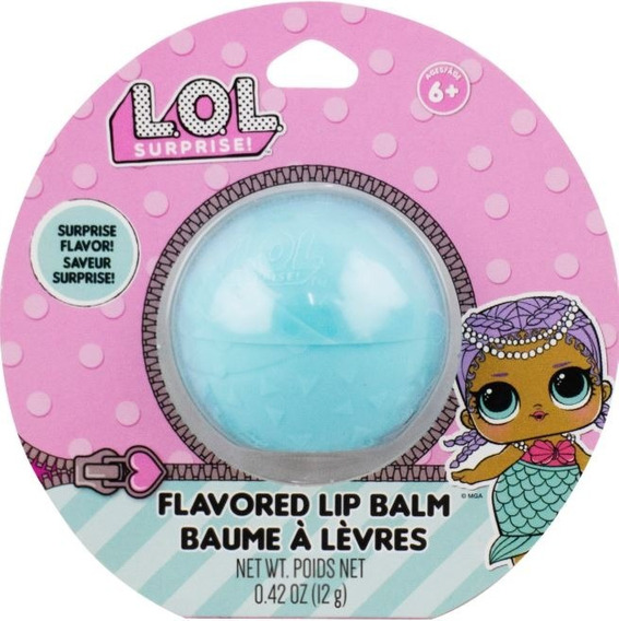 Lol Surprise - Lip Balm Sabor Surpresa - Verde