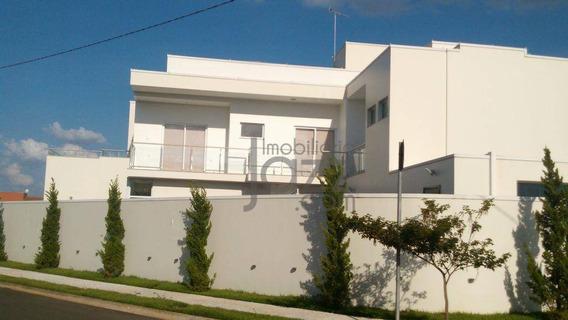 Casa Residencial À Venda, Condomínio Villa Lobos, Paulínia. - Ca3328