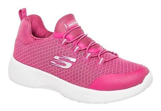 Tenis Skechers Niños Dynamight 81018lpnk Rosa L Envio Gratis