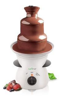 Fuente De Fondue De Chocolate De 3 Niveles De Nutrichef