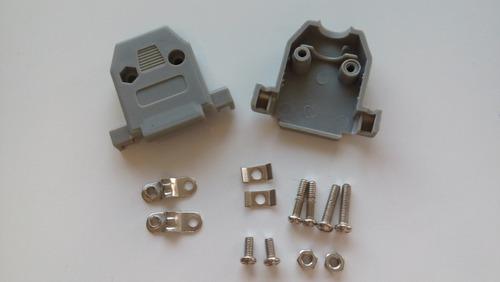 Imagem 1 de 1 de 38 - Capa Plástica Para Conector Db15  2 Fileiras Kit Curto