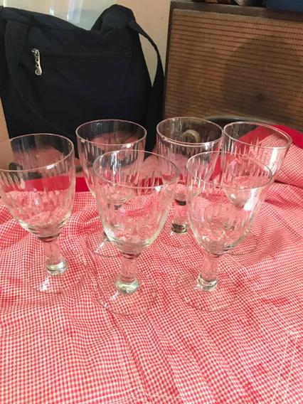 Copas De Cristal Labradas Para Vino
