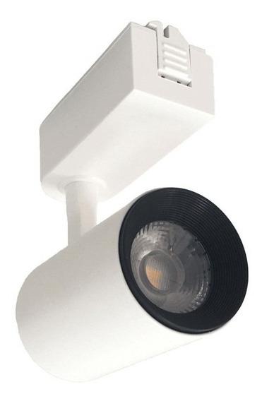 Spot Para Trilho Eletrificado Branco Led 7w 3000k Ou 6000k
