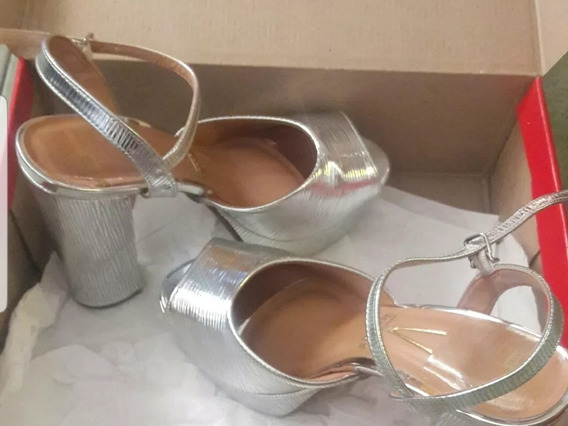 Sandalias Zapatos, Confort Taco Palo Vizzano.