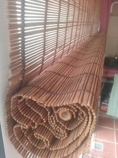Cortinas Bamboo Enrollable