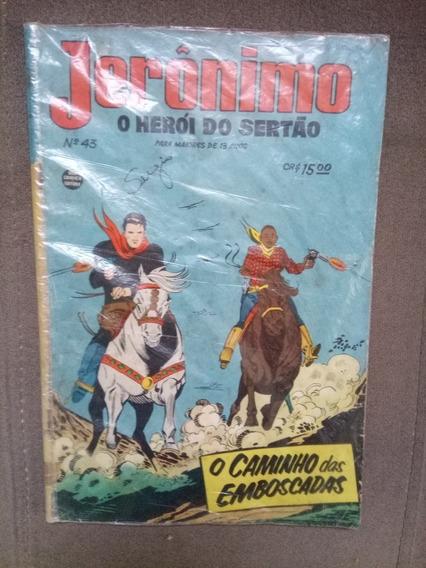 Jerônimo O Herói Do Sertão N.°43 Rge 1961 Raro Excelente