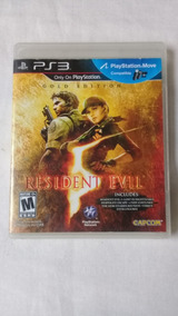 Resident Evil 5 Gold Edition Ps3 Original