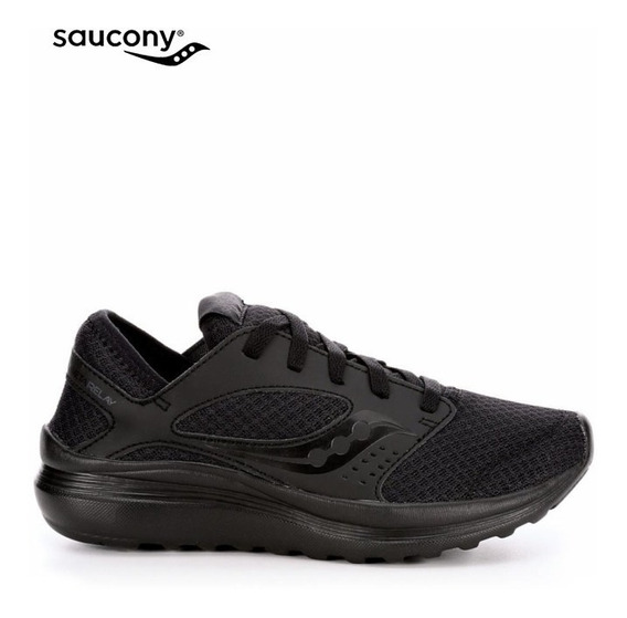 Tenis Saucony Hombre Negros Kineta Relay Running Gym S2524413