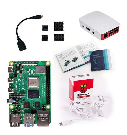Computador Raspberry Pi 4 B (quad-core 1.5ghz, 2gb Ram, Wi-f