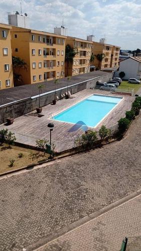 Imagem 1 de 5 de Apartamento Com 3 Dormitórios À Venda, 68 M² Por R$ 340.000,00 - Cidade Jardim - Jacareí/sp - Ap7687