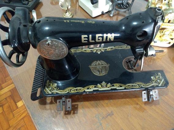 Maquina De Costura Eugin Antiga Decoração