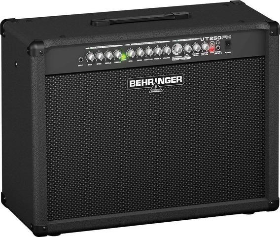 Behringer Virtube Vt250fx Amplificador Guitarra 2x50w 2 Ch