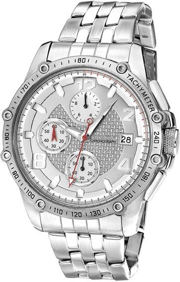 Relógio Magnum Prateado Masculino Ma32461q