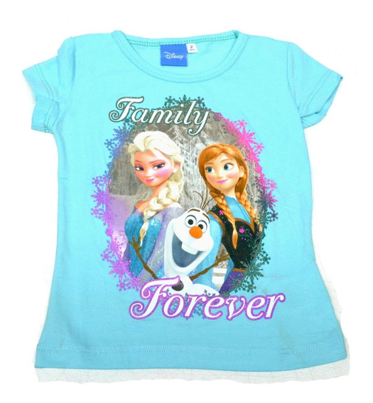 Blusa Ana Y Elsa Frozen Azul, Novedades Victoria-prqi4e4