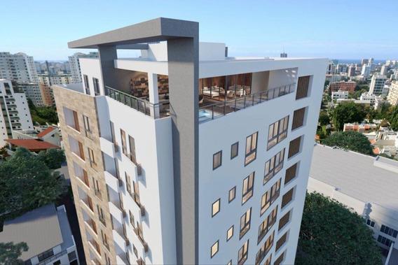 Penthouse En Venta En Bella Vista 3hab Torre En Construcción