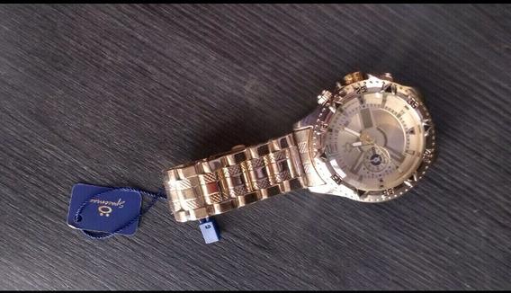 Relógio Masculino Orizom Aço Inox (novo)