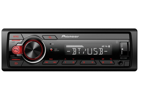 Auto Estéreo Pioneer Mvh-s215bt Bluetooth Usb Auxiliar Android