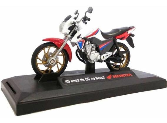 Moto Honda Cg 160 + Revista Duas Rodas