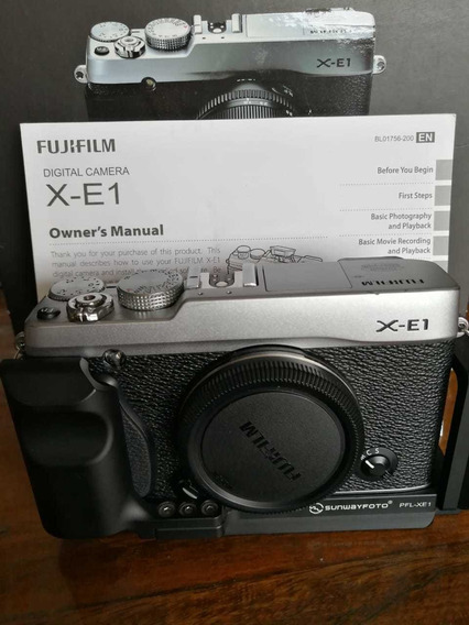 Câmera Fuji Xe1 Com Grip