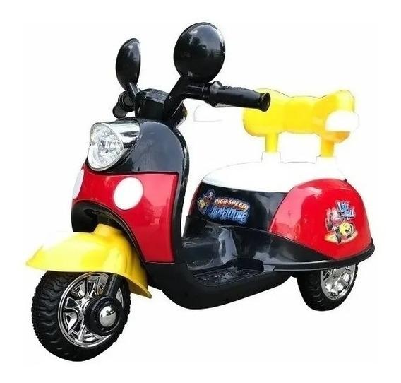 Triciclo Moto A Bateria 6v Dencar @ Mca