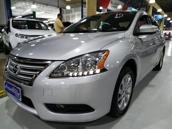 Nissan Sentra Sv 2.0 Flex 2015 Automatico (completo + Couro)