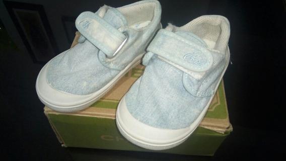 Zapatillas Cheeky Con Abrojo N° 21