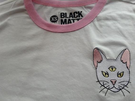 Gato Con 3 Ojos Playera Dama Black Matter De Hottopic