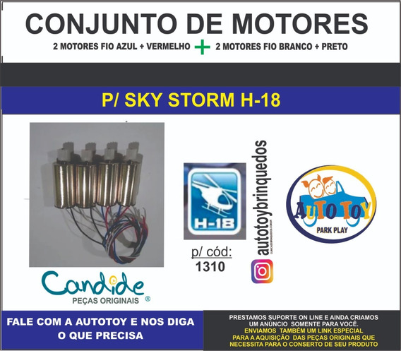 Sky Storm 1310- H-18- - Conjunto Dos 4 Motores