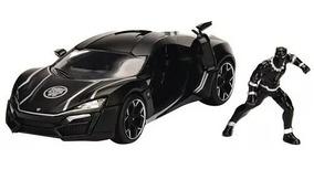 Carro Miniatura Lykan Hypersport Pantera Negra 1/24 Marvel