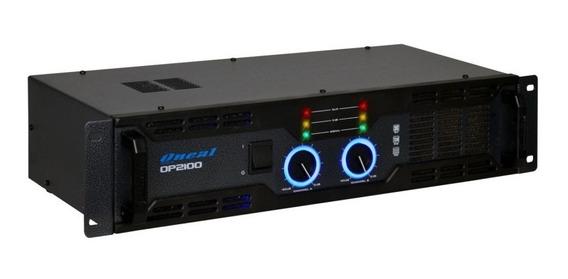 Amplificador De Potência Oneal Op 2100 290w Rms