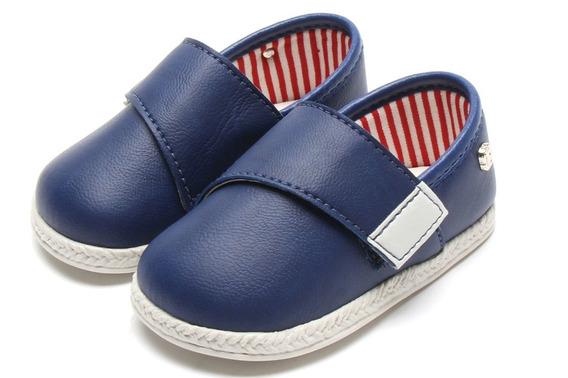 Sapato Alpargata Menino Pimpolho Marinho Frete Gratis 005417
