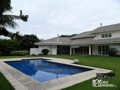 Imagem 1 de 30 de Casa Com 4 Dormitórios À Venda, 619 M² Por R$ 6.800.000,00 - Condomínio Terras De São José - Itu/sp - Ca1371