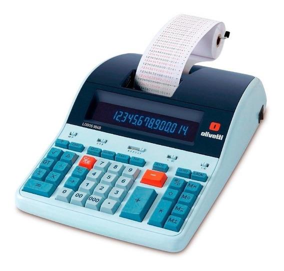 Calculadora Térmica Profissional Olivetti Logos 804b 14 Díg.