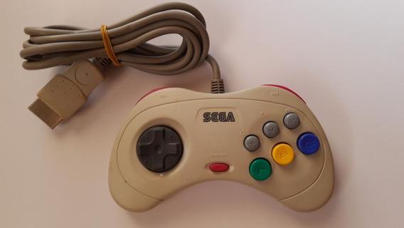 Controle Sega Saturn Original E Funcionando 100% Perfeito