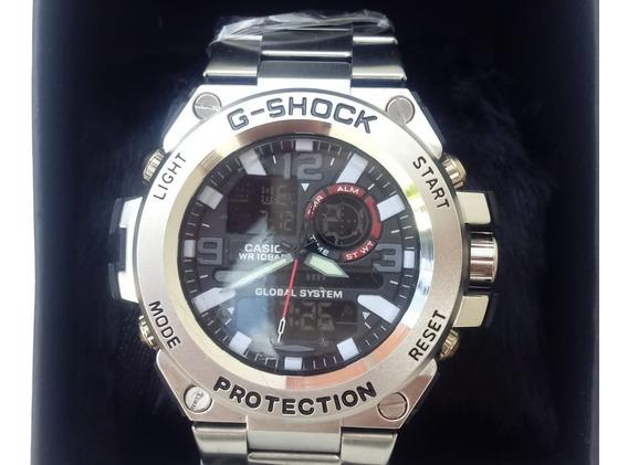 Relógio Luxo Gshock Pulseira Grossa