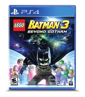 Lego Batman 3 Beyond Gotham Ps4 Nuevo Fisico Sellado