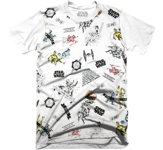 Playera Oficial Star Wars Force Para Niño