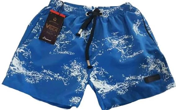 Short Hombre Baño Playa Estilo Batik Verano Microfibra
