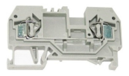 Borne (conector De Passagem) 4mm² Mola - 100 Unidades
