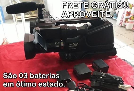 Filmadora Ag-ac8p Full Hd Panasonic (muito Nova). Fotos Or