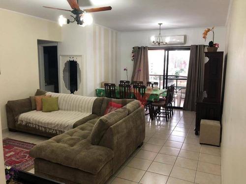 Apartamento À Venda, 105 M² Por R$ 350.000,00 - Vila Guilhermina - Praia Grande/sp - Ap1098