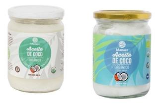 1 Litro - Aceite De Coco 100% Puro Y Extra Virgen-pack Mixto