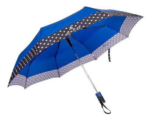 Paraguas Lunar Azul