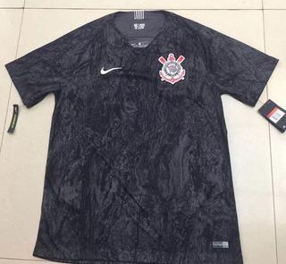 Camisa Do Corinthians Preta Original