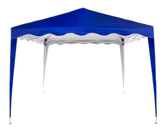 Tenda Sunfit Gazebo Base 3x3m, Azul Listrada