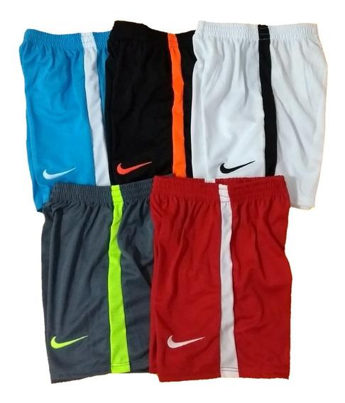 Kit 05 Bermudas Shorts Academia Lazer Esporte Super Promoção