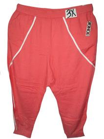 Pantalon Coral Naranja Casual Talla 3x 42/44w Bongo