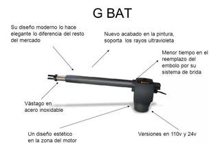 Par De Pistones Para Porton Merik Modelo G-bat 300 Uso Rudo
