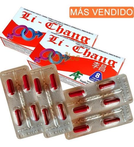 Li Chang X 16 Capsulas - Vigor Masculino Suplemento Natural